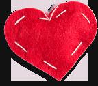 Oranment Heart